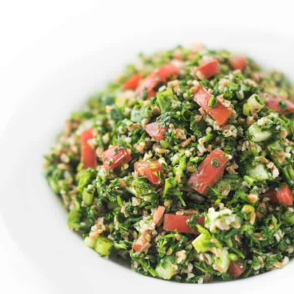 Tabbouleh Salad - authentic Syrian recipe