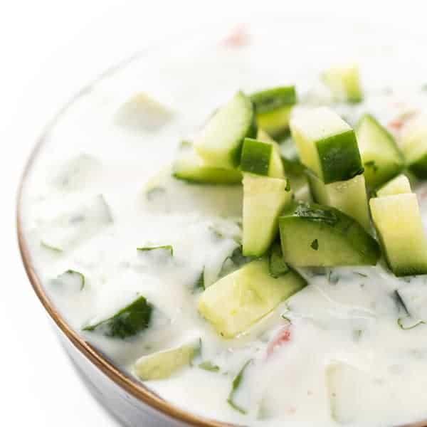 Cucumber Raita Recipe Indian