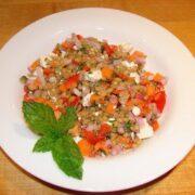 Wheat Berry Salad Recipe With Feta