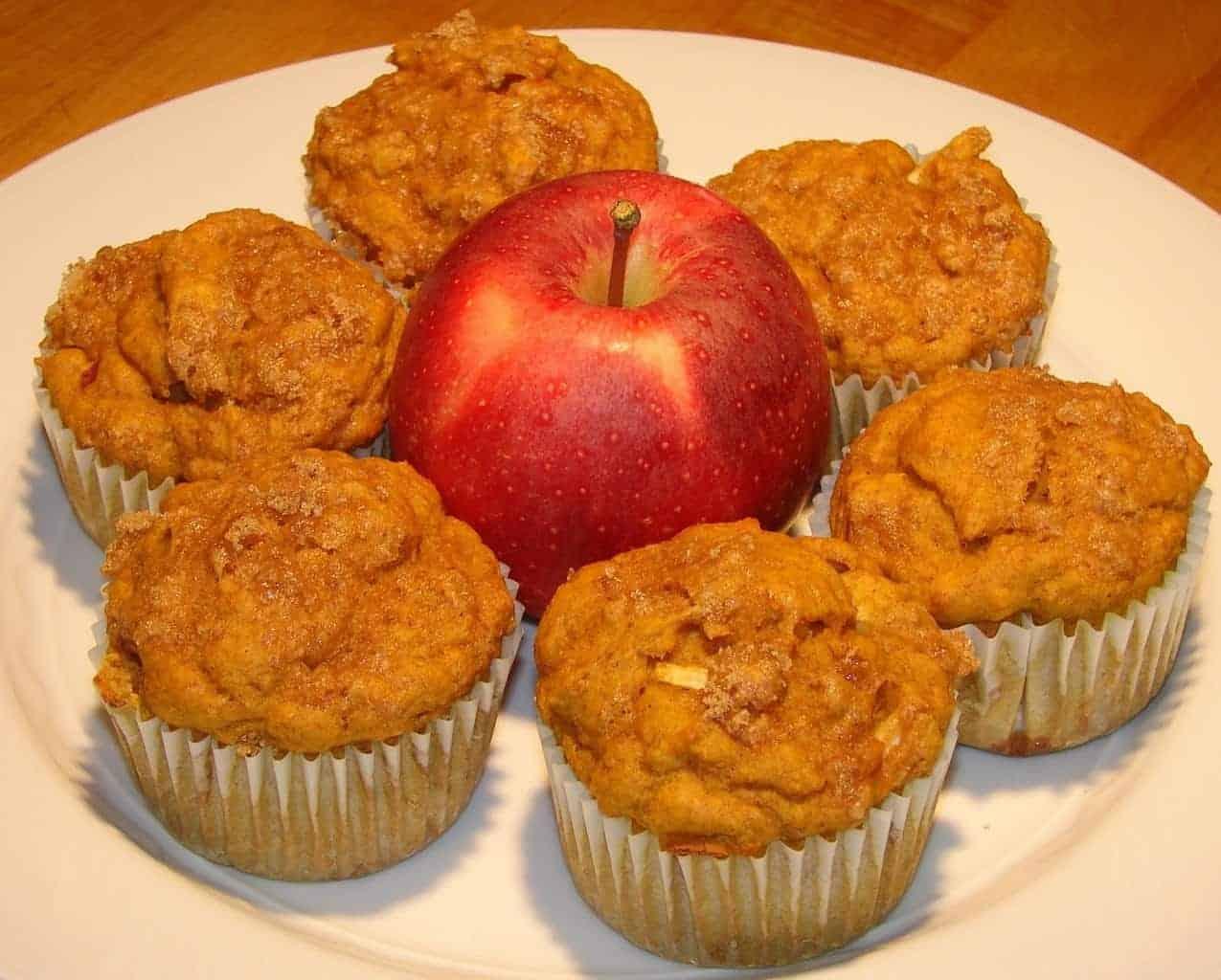 Apple Pumpkin Spice Muffins