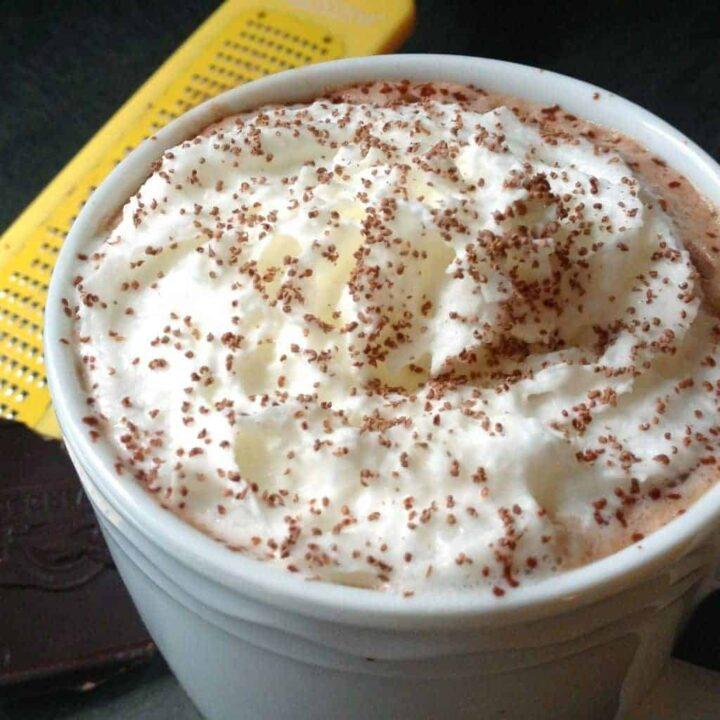 Dark Chocolate Hot Cocoa - The Lemon Bowl