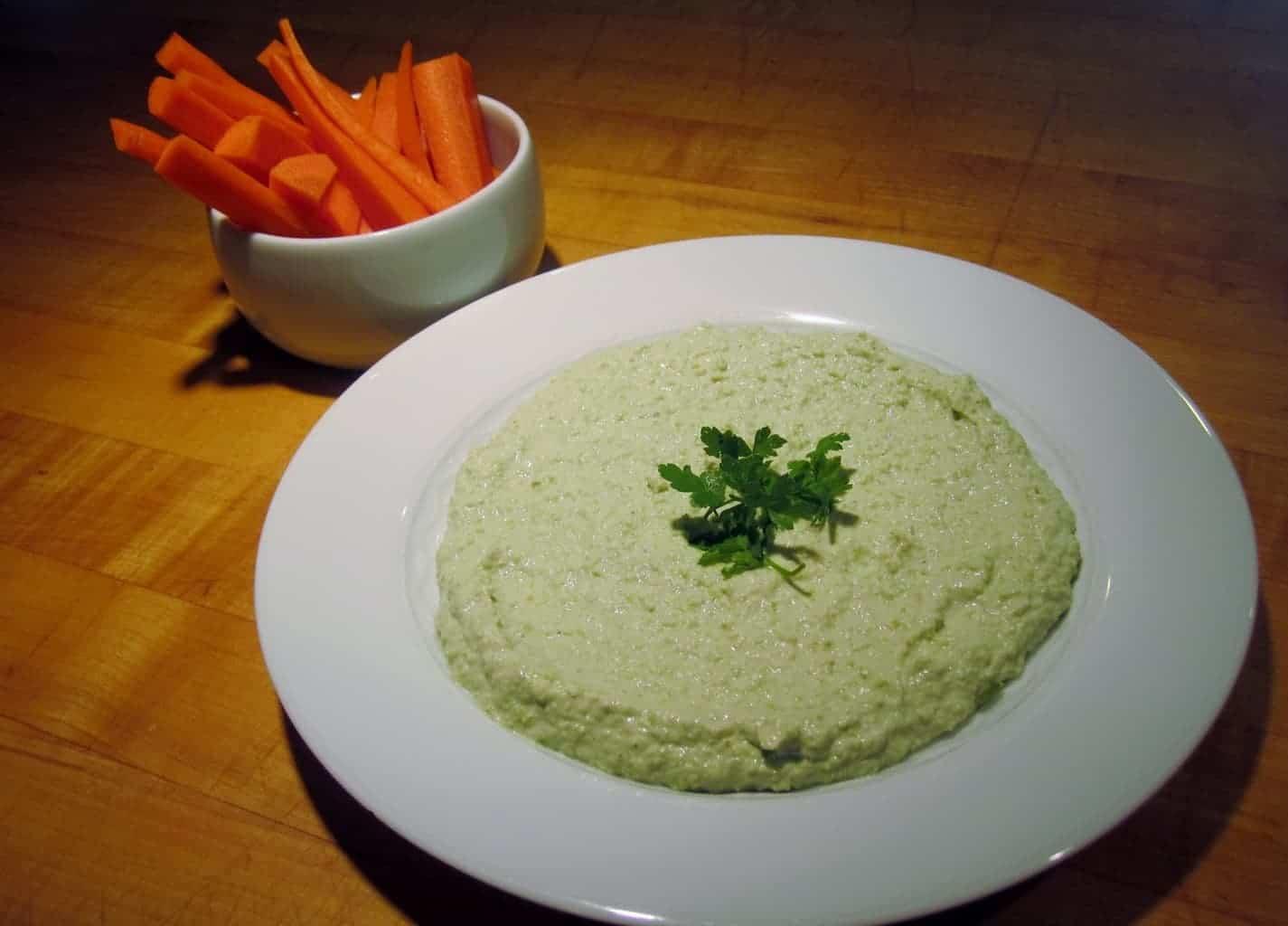 Edamame Hummus (No Tahini)