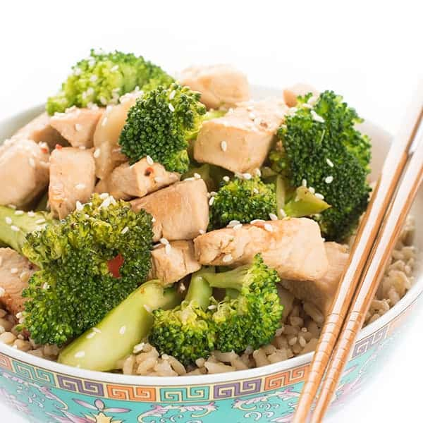 Chicken and Broccoli Asian Stir Fry Recipe
