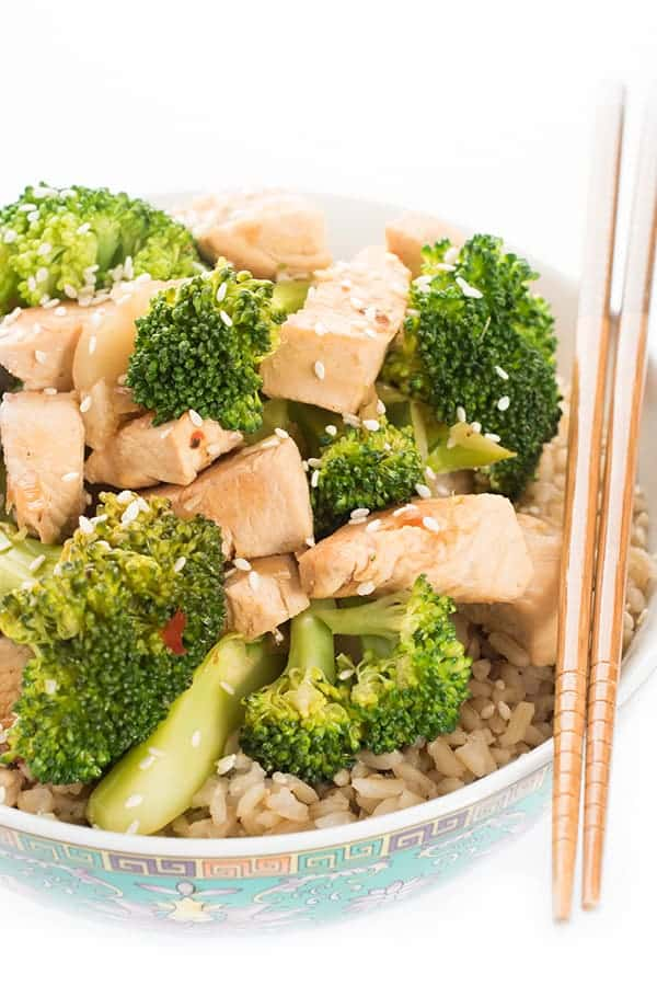 Chicken and Broccoli Stir Fry Dinner Recipe