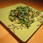 Brown Rice with Spinach and Herbs