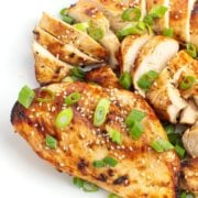 chicken breast with soy marinade