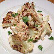 Sesame Roasted Cauliflower