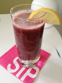 Fizzy Coconut Berry Juice