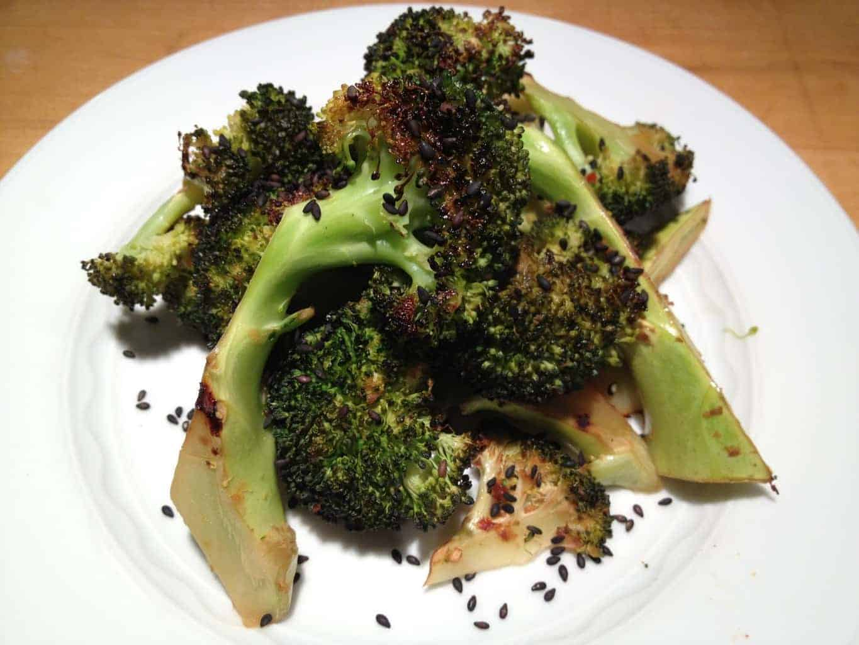 Sesame Roasted Broccoli