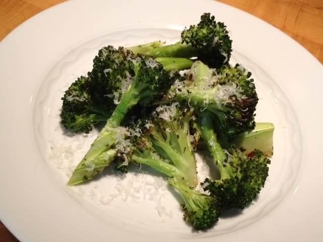 Italian Herb Roasted Broccoli