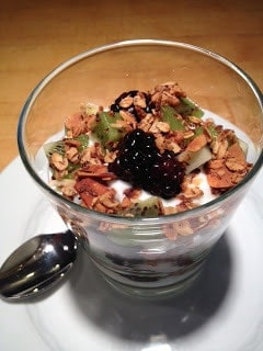 Olive Oil Granola and Honey