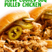 Slow Cooked BBQ Pulled Chicken