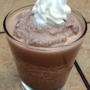 Healthier Chocolate Malt