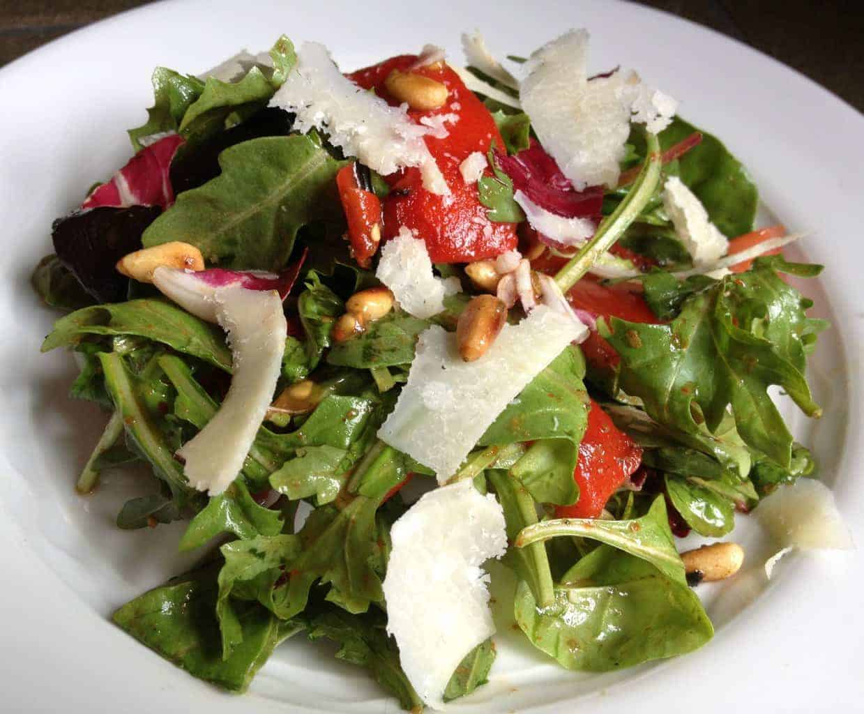 Italian Salad with Shaved Parm