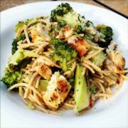 Lemon Pasta with Chicken and Broccoli
