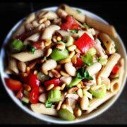 Pasta Salad with Tuna and Beans