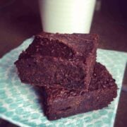 Pumpkin Chocolate Espresso Brownies