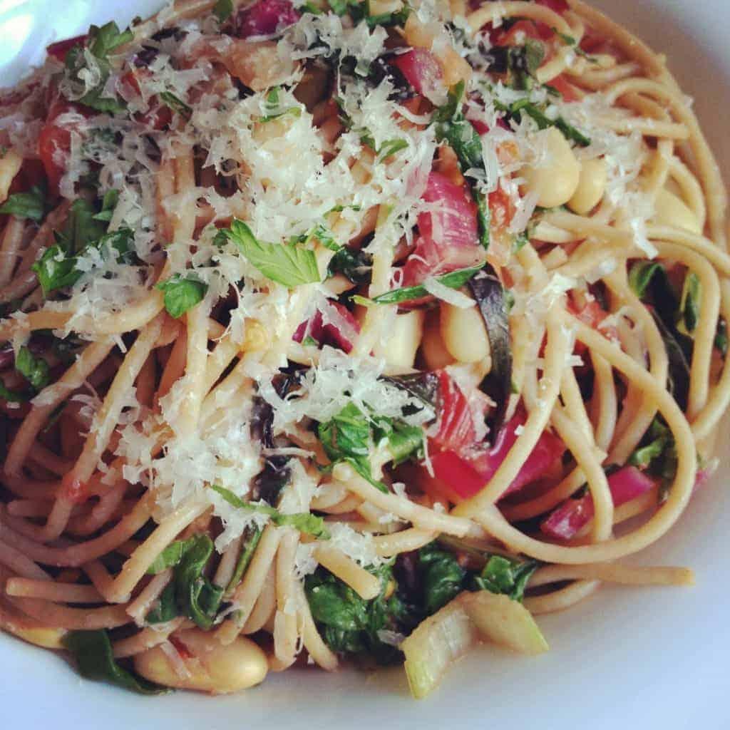 garlicky pasta