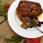Blueberry Oatmeal French Toast - The Lemon Bowl