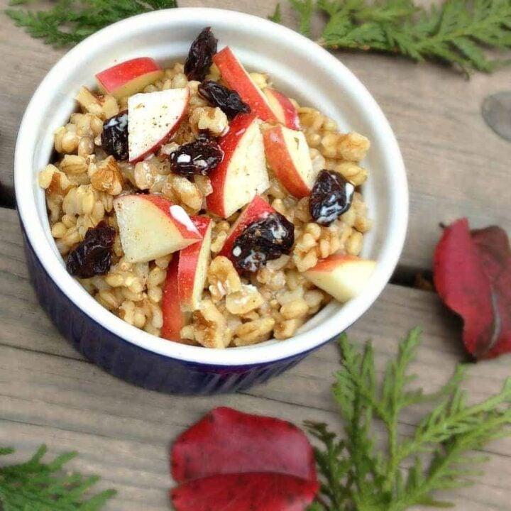 Breakfast Barley - The Lemon Bowl