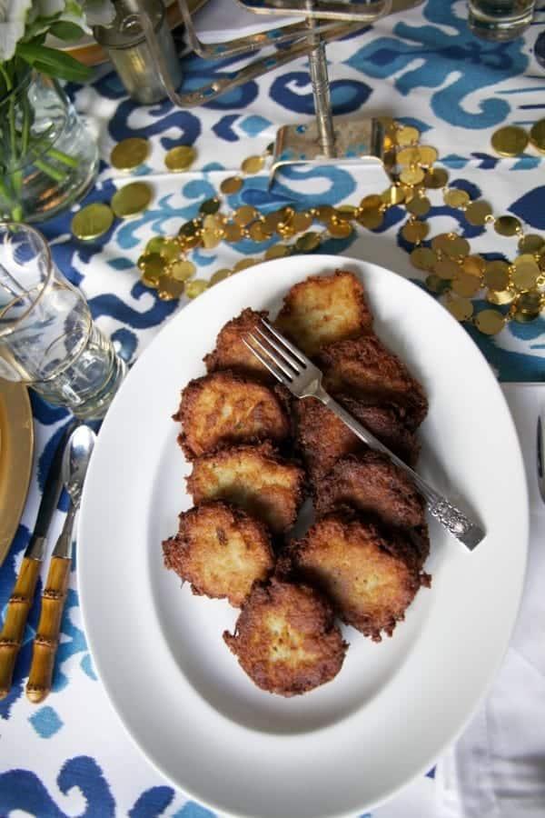 Potato Latkes - The Lemon Bowl