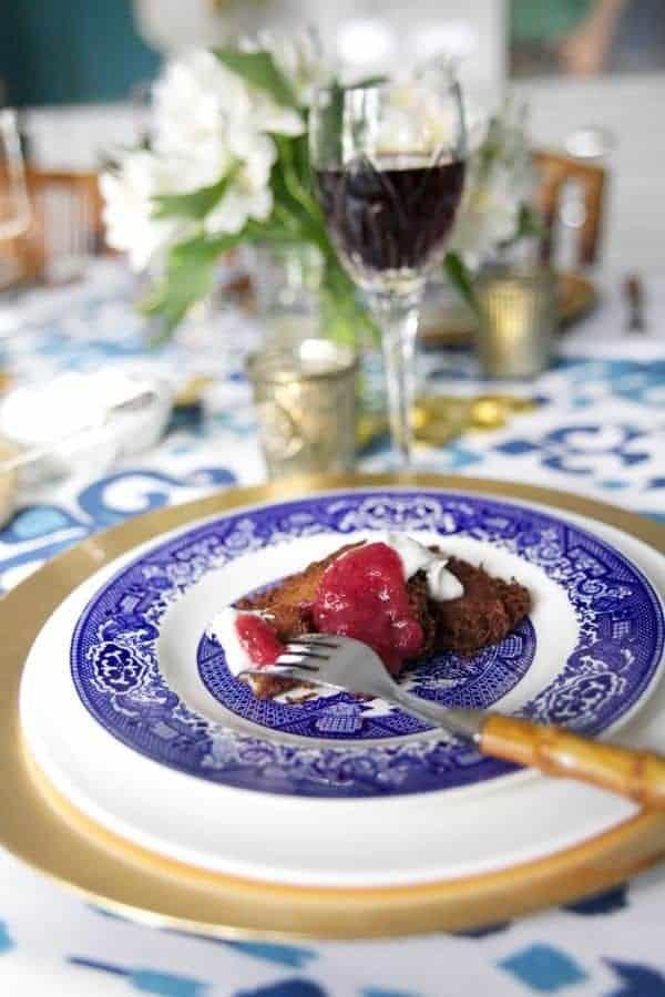 Slow Cooker Cranberry Apple Sauce - The Lemon Bowl