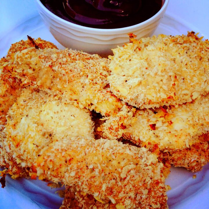 make your own chicken fingers with panko