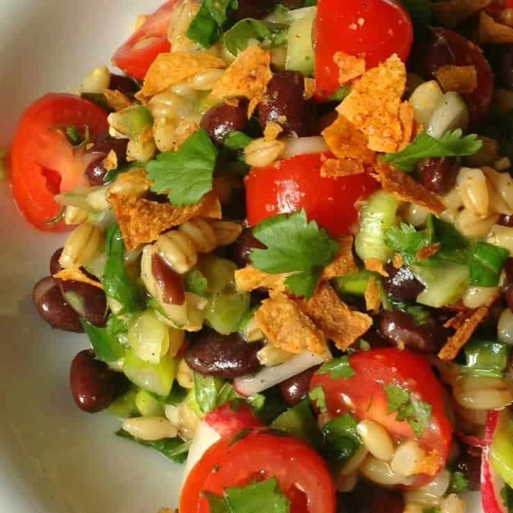 Black Bean and Barley Salad - The Lemon Bowl