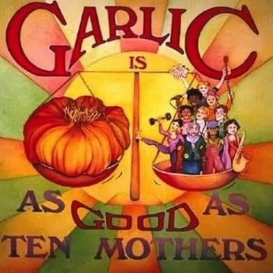 Garlic As Good as Ten Mothers - The Lemon Bowl