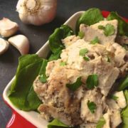 Garlic Studded Roast Pork Loin - The Lemon Bowl