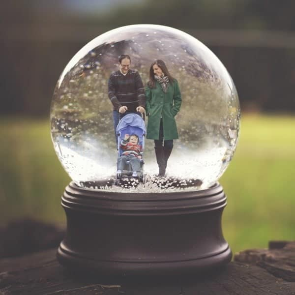 Snow Globe Family - The Lemon Bowl