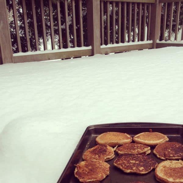 Cooling Pancakes - The Lemon Bowl