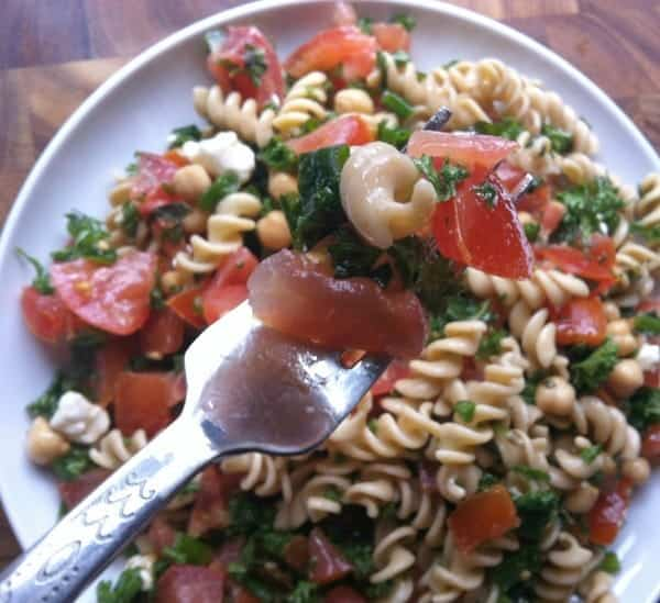 Tabbouleh Whole Wheat Pasta Salad