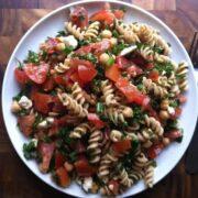 Tabbouleh Pasta Salad - The Lemon Bowl