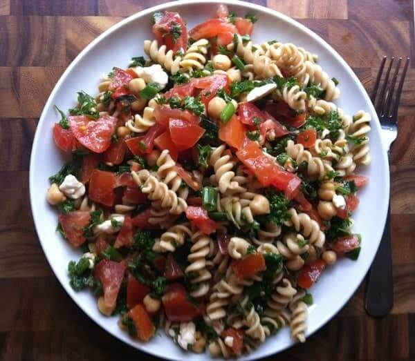 Tabbouleh Pasta Salad - The Lemon Bowl