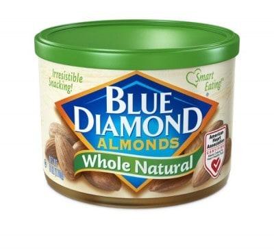 Blue Diamond Natural Almonds - The Lemon Bowl
