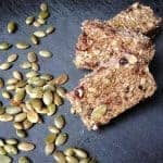 Chewy Granola Bars with Pumpkin Seeds