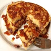 Whole Wheat Maple Bacon Pancakes - The Lemon Bowl