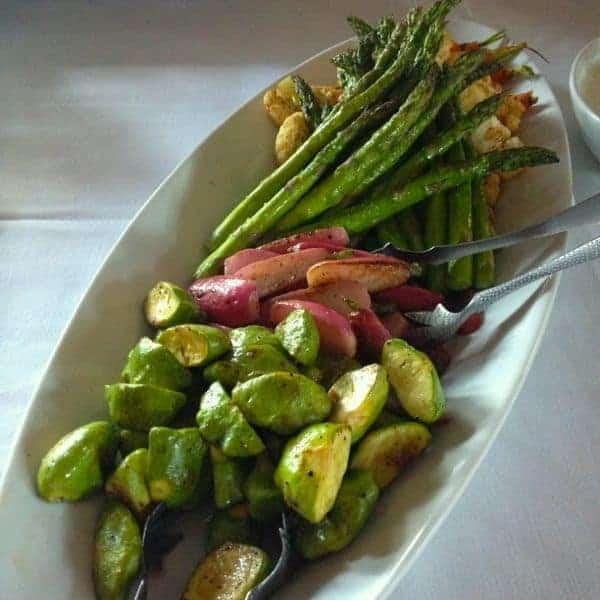 Grilled Vegetables - The Lemon Bowl