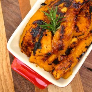 Grilled Sweet Potatoes with Rosemary - The Lemon Bowl