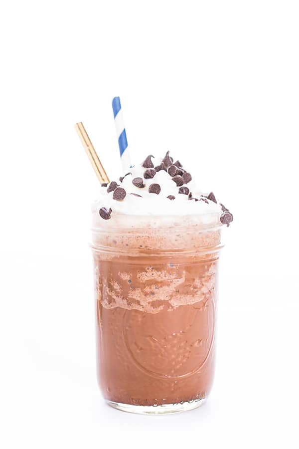 How to make a frappuccino mocha at home