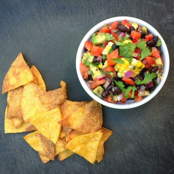 Avocado, Black Bean and Corn Salsa - The Lemon Bowl