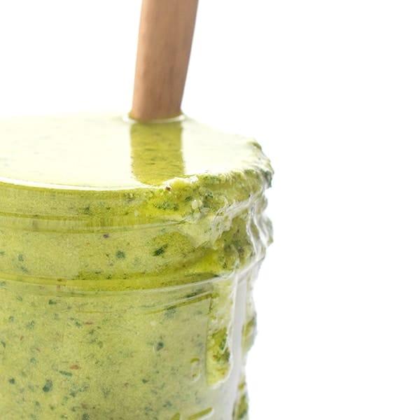 Easy Pesto Recipe - guide to freezing