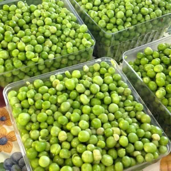 Green Peas - The Lemon Bowl