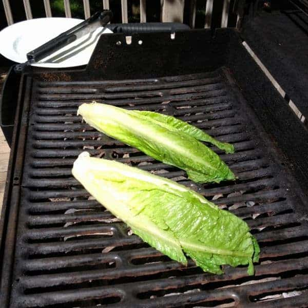 Grilled Romaine - The Lemon Bowl