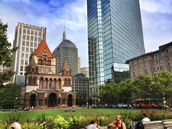 Boston - Copley Square - The Lemon Bowl