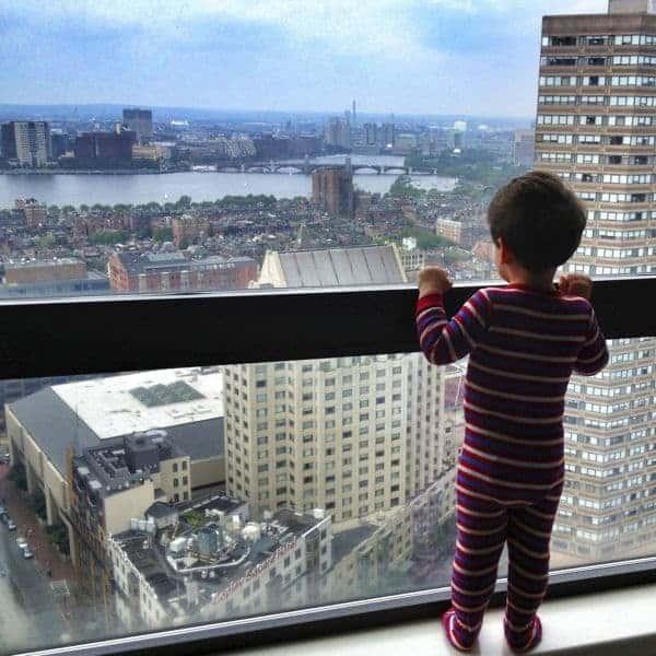 Boston Skyline - The Lemon Bowl