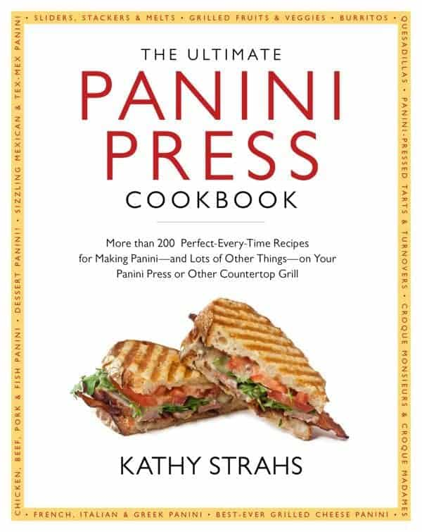 Panini Press Cookbook Cover - The Lemon Bowl