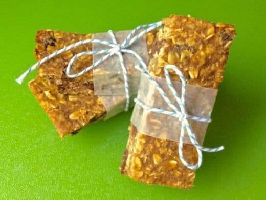 Pumpkin Chocolate Chip Granola Bars 3 - The Lemon Bowl
