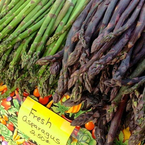 Asparagus at Farm Stand - The Lemon Bowl